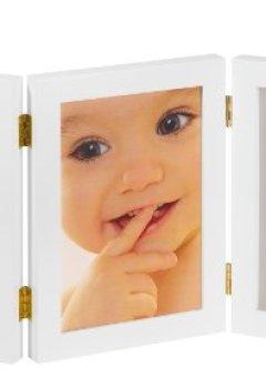 Livres Couvertures de MY SWEET MEMORIES Cadre Photo 2 empreintes Blanc