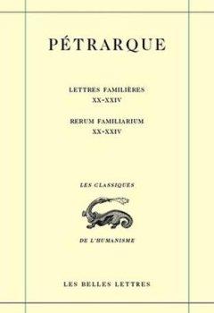 Livres Couvertures de Lettres familières. Tome VI : Livres XX-XXIV / Rerum Familiarium. Libri XX-XXIV (6)