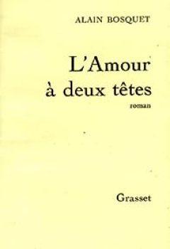 Livres Couvertures de L'amour a deux têtes