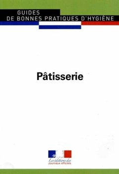 Livres Couvertures de Pâtisserie - Guides de bonnes pratiques d'hygiène n°5902