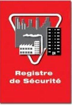 Livres Couvertures de Registre de securite