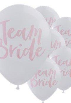 Livres Couvertures de Ginger Ray Design Team mariée enterrement Ballons X 10?Team mariée