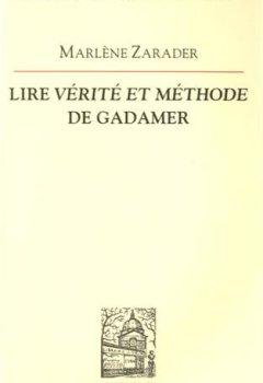 Livres Couvertures de Lire Vérité et méthode de Gadamer