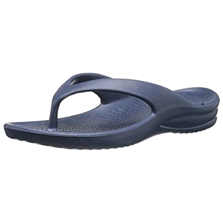 The DAWGS Original Flip Flop is ultrasoft and super lightweight with a non-marking outsole. Provides great comfort with an extra thick sole, a massaging foot bed and arch support. Very easy to clean and maintain.