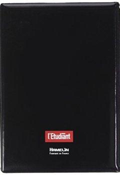 Livres Couvertures de L'Etudiant 100735804 Agenda 2018-2019 1 Jour par page 15 x 20 cm Noir