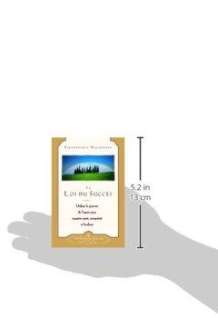 Livres Couvertures de La loi du succès