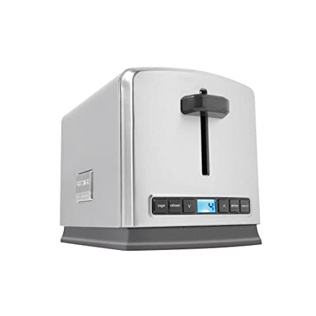 Introducing the stylish stainless steel Frigidaire Professional™ 2-Slice Toaster. Created with a straightforward, no-fuss design, this toaster features a slim build for more room on countertops. This easy-to-use, premium-quality Toaster shows the F...