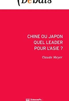 Livres Couvertures de Chine ou Japon : quel leader pour l'Asie ?