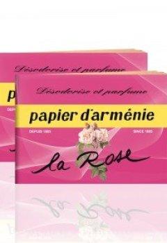 Livres Couvertures de Papier d'Arménie S.E - Papier D'Armenie A La Rose - Le Carnet