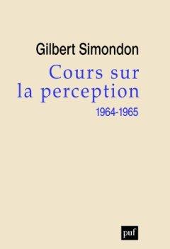 Livres Couvertures de Cours sur la perception (1964-1965)