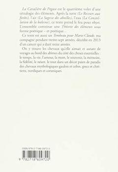 Livres Couvertures de La cavalière de Pégase : Dernière leçon de Démocrite