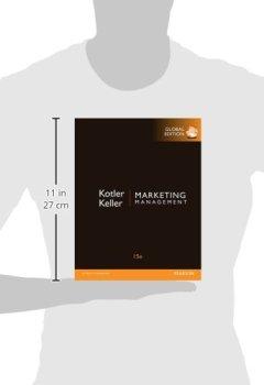 Livres Couvertures de Marketing Management, Global Edition