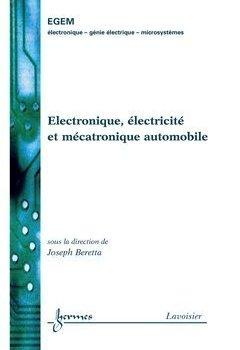 Livres Couvertures de Electronique, électricité et mécatronique automobile