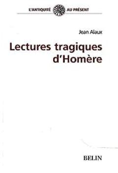 Livres Couvertures de Lectures tragiques d'Homère