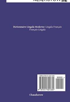 Livres Couvertures de Dictionnaire Lingala Moderne: Lingala-Français, Français-Lingala