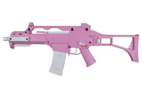 S&T G36C Competition 電動ガン Pink S&TAEG12PN