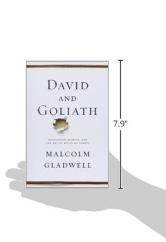Livres Couvertures de David and Goliath: Underdogs, Misfits, and the Art of Battling Giants.