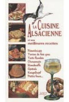 Livres Couvertures de La cuisine alsacienne meilleures recettes (f)