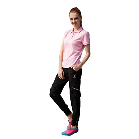 there is spendex or lycra material which is with High elastic so that you can wear it to enjoying climing ,hiking or other outdoor sports.