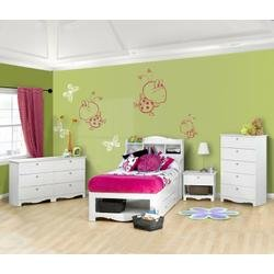 Image of Dixie Kids Bedroom Furniture Set 3 - Nexera Furniture - 400157 (B004CQXA0K)