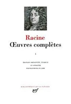 Livres Couvertures de Racine : Oeuvres complètes, tome II