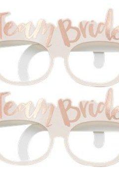 Livres Couvertures de Ginger Ray enterrement Team mariée Or rose Lunettes X 8?Team mariée
