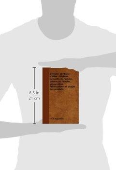 Livres Couvertures de L'Olivier Et L'Huile D'Olive - Histoire Naturelle de L'Olivier, Culture de L'Olivier, Preparation, Falsifications, Et Usages Des Produits