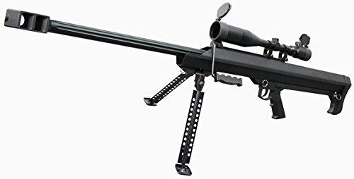 SNOW WOLF BARRET M99ライフル(エアーコッキングガン) BK