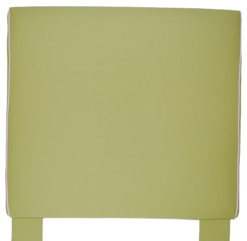 Image of Southeastern Kids Sleigh Headboard Apple Green and Light Pink (1004/0705)