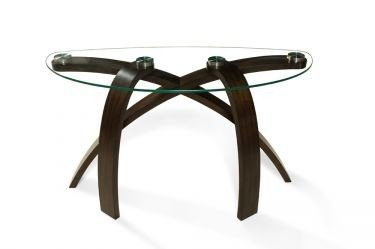 Image of Magnussen Allure Complete Console Table (T1396-75T, T1396-75B)