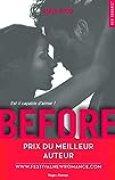 Before Saison 1 - Prix du meilleur auteur Festival New Romance 2016 (1)