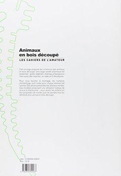 Livres Couvertures de Animaux en bois découpé