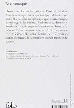 Livres Couvertures de Andromaque
