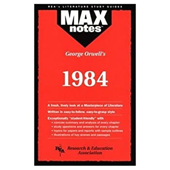 """Cover of """"George Orwell's 1984 (Max Notes..."""