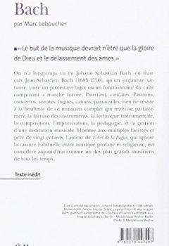 Livres Couvertures de Bach