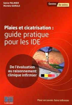 Livres Couvertures de Plaies et cicatrisation: Guide pratique pour les IDE. De l'évaluation au raisonnement clinique infirmier.