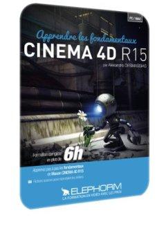 Livres Couvertures de Apprendre les Fondamentaux Cinema 4d R15 Atelier Creatif - Formation Video en 6h38