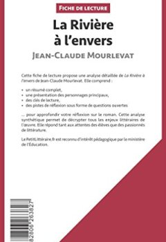 Livres Couvertures de La Rivière à l'envers de Jean-Claude Mourlevat: Résumé complet et analyse détaillée de l'oeuvre