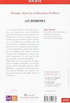 Livres Couvertures de Les Berbères