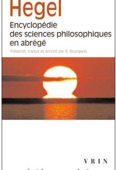 Livres Couvertures de Encyclopédie des sciences philosophiques en abrégé