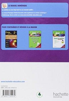 Livres Couvertures de Physique-Chimie 2de - Livre élève Format compact - Edition 2010