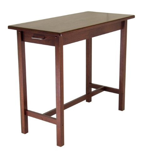 Image of Kitchen Island Table with 2 drawers (w94540qq)