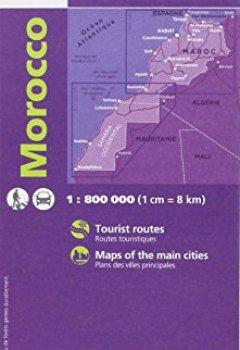 Livres Couvertures de 85108 MAROC  1/800.000