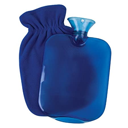 The Carex Hot Water Bottle with Fleece cover is a natural way to quickly warm up and relieve stress and muscle pain. The water bottle can be filled with hot or cold water and the fleece cover provides a comfortable fuzzy surface. Use the Hot Water Bo...