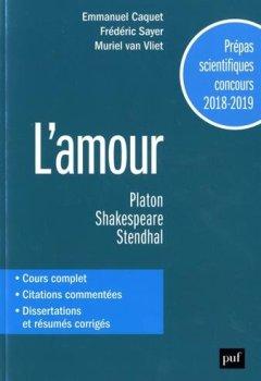 Livres Couvertures de Prepas Scientifiques 2018-2019.Français/Philosophie