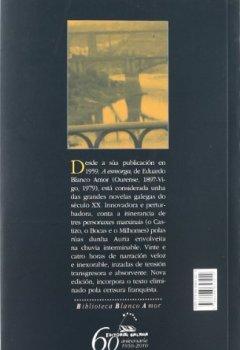 Portada del libro deA esmorga (Biblioteca Blanco Amor)