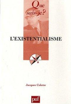 Livres Couvertures de L'existentialisme