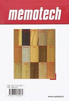 Livres Couvertures de Bois et matériaux associés : Du Bac Pri aux BTS de la filière