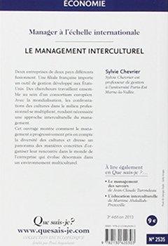Livres Couvertures de Le management interculturel