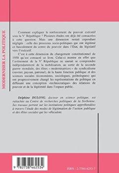 Livres Couvertures de Moderniser la politique: Aux origines de la Ve République
